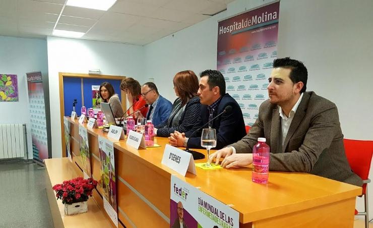 AEHSC participa en las III Jornadas de Enfermedades Raras en Molina de Segura